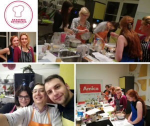 Świąteczne warsztaty kulinarne w Akademii Gotowania