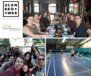 Dzień księgowego, integracja na badmintonie